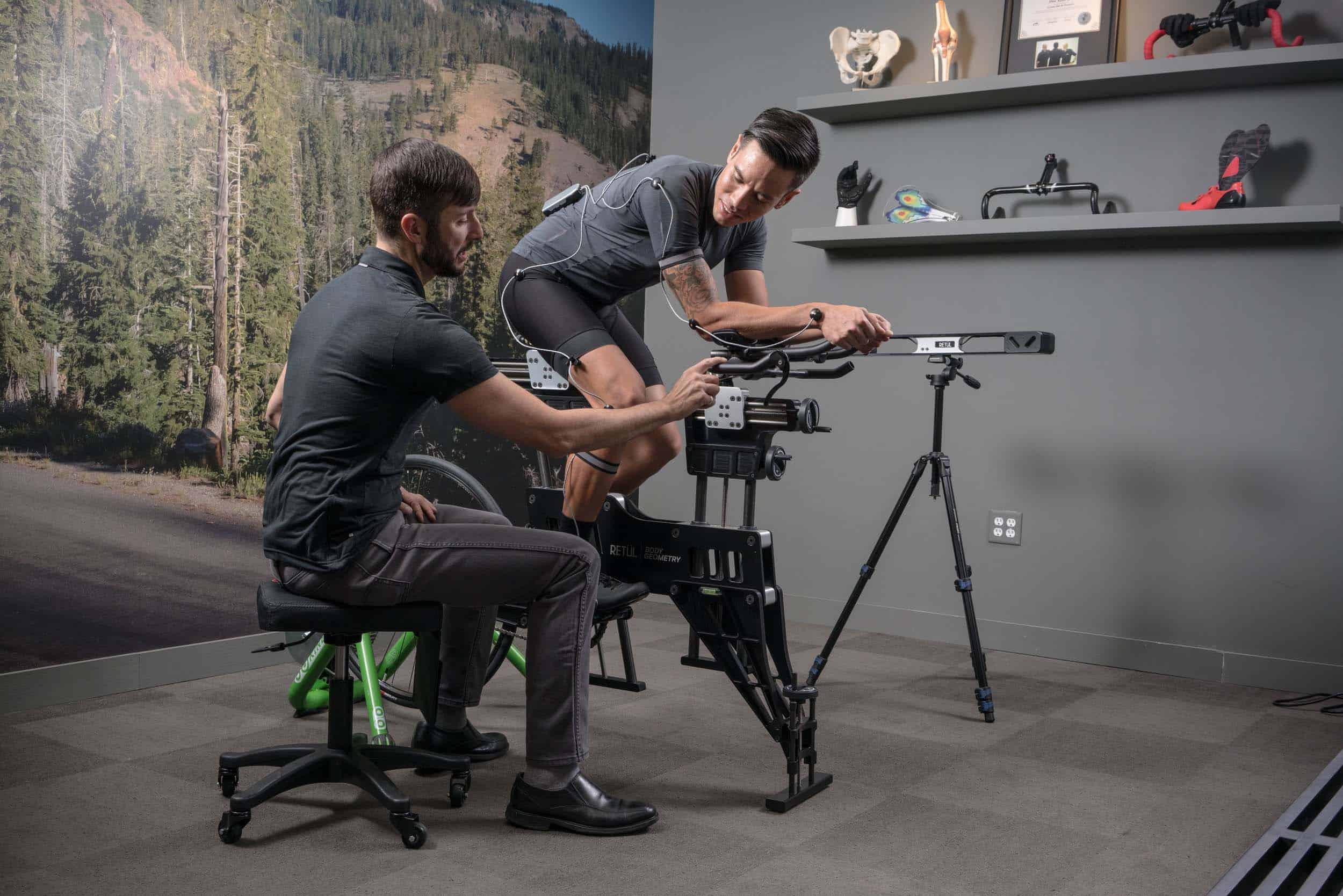 3D Retül Bike Fit