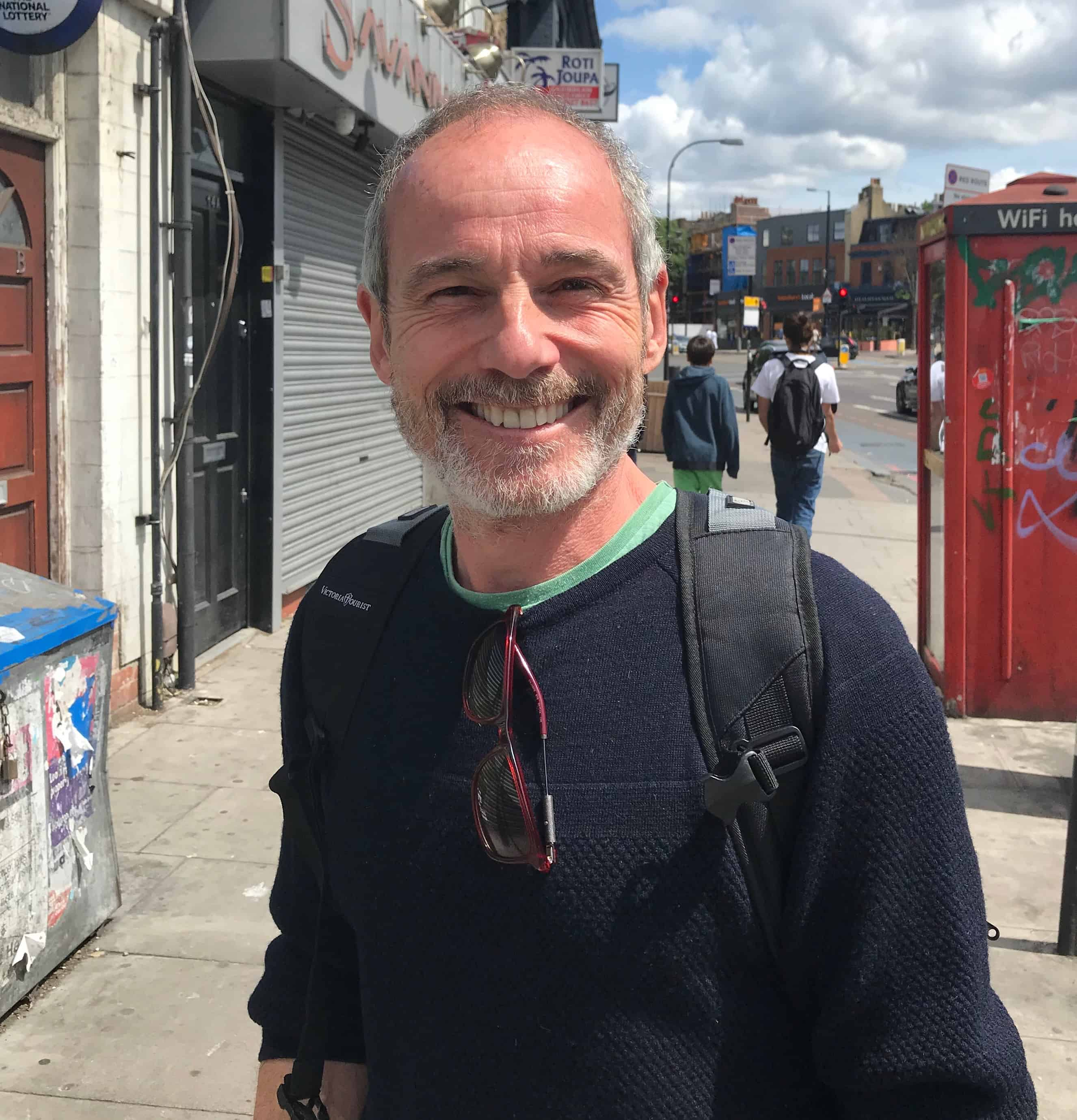 Breathwork teacher Anthony Clegg